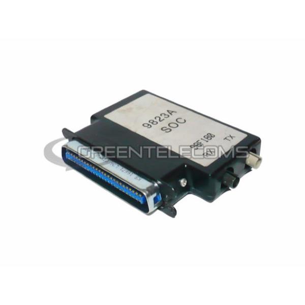 Transceptor de fibra óptica con adaptador SOC 9823A de Avaya 98F180